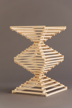 """Aligning and Balancing"" - Wood Project"