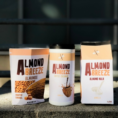 Almond Breeze - Redesigned Packaging